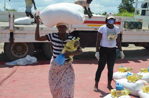 新型コロナウイルス:写真で見る国連WFPの支援活動