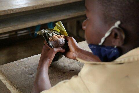 「学校給食を家庭で」6万人の子どもたちに届ける食料支援―コンゴ共和国