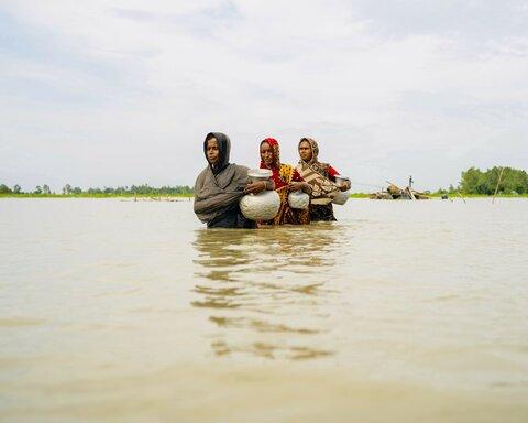 洪水よりも早く二次災害を防ぐ バングラデシュから