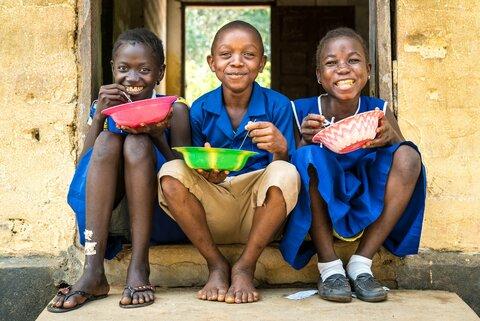 11歳のムンジャマにとって学校給食が大切な理由