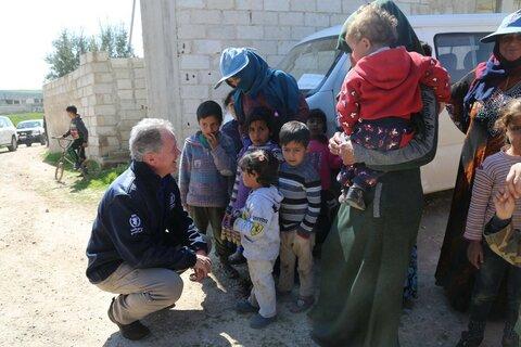 国連WFP事務局長デイビッド・ビーズリーより支援者の皆様へ