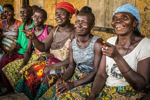 シエラレオネの女性農家たち