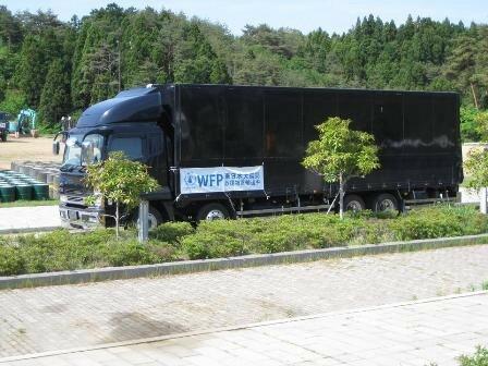 東日本大震災 支援物資輸送活動報告 第三弾