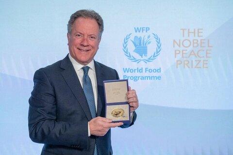 国連WFP事務局長による2020年ノーベル平和賞受賞スピーチ