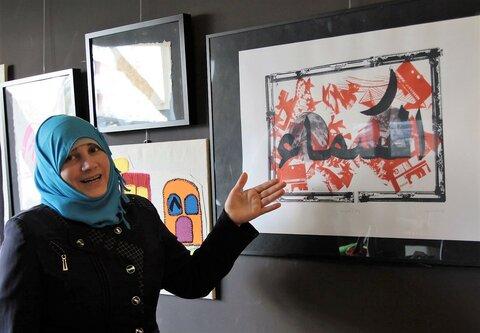 アートが支える、シリア難民の希望