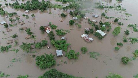 サイクロンの被災地で緊急対応を始動ーモザンビーク