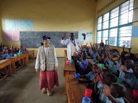 ルワンダの学校給食の現状と未来