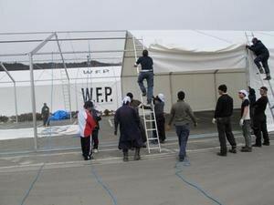 震災から1カ月 WFPの日本での支援活動