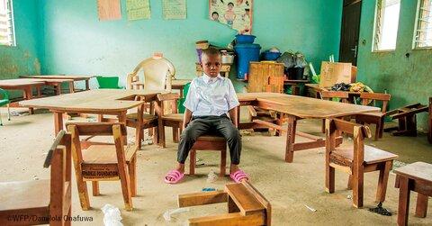 「給食」から未来を変えよう!~国連WFP・学校給食支援へのご協力のお願い