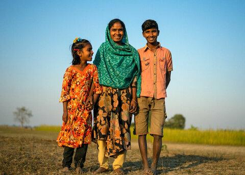 洪水保険がバングラデシュの異常気象に直面している人々に力を与える