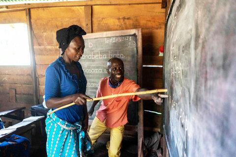 「読み書き」能力の普及:識字訓練によるコンゴ女性のエンパワメント活動