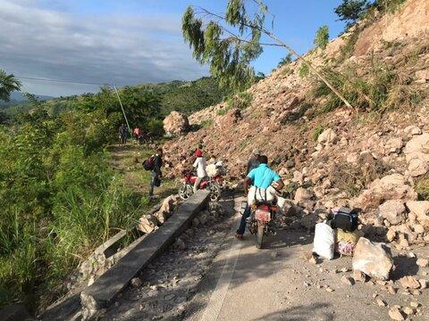 ハイチ地震: 国連WFPはパートナーと協力して被災者を支援