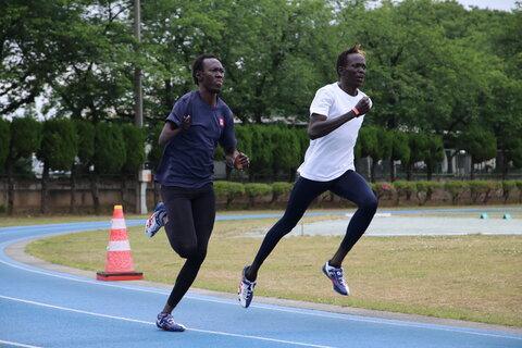 南スーダン代表選手が語る母国の困難 「食べられない悪夢」をなくしたい