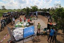 サイクロン「イダイ」で被災した南部アフリカ3カ国に日本から825万米ドルの支援