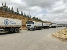 国連WFPの輸送隊がエチオピア・ティグライ州に到着、支援の増大が急務