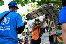ミャンマーの貧困都市の郡区における国連WFPの飢餓対策へ日本から新たな支援