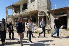 シリア危機9年―国連WFPとユニセフの事務局長がシリアを訪問