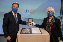 WFP事務局長、ノーベル賞受賞スピーチで飢饉を防ぐために世界の富を活用するよう世界にアピール
