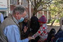 国連WFP事務局長が飢饉の瀬戸際にあるイエメンを視察、平和を要請