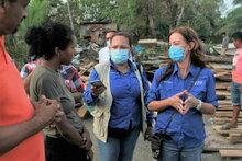 ハリケーン「イータ」により、中米では何百万人もの人々が緊急の食料支援が必要