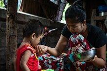 ミャンマーの飢餓が深刻化:資金不足で阻まれる国連WFPの人道支援