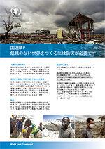 国連WFPの防災活動のまとめ