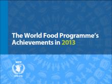 WFP 年次報告書2013 (英語版)
