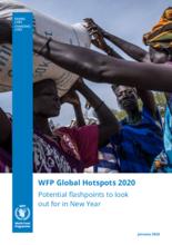 国連WFPが2020年上半期に推測する危機的飢餓の報告書「WFP2020 Global Hotspots Report」